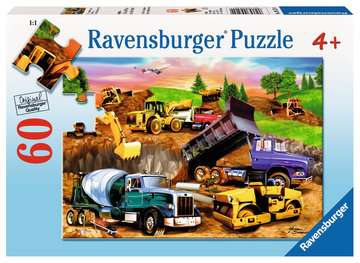 Construction Crowd Jigsaw Puzzles;Children s Puzzles - image 1 - Ravensburger