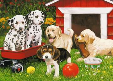 Puppy Party Jigsaw Puzzles;Children s Puzzles - image 2 - Ravensburger