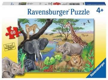 Animaux d Afrique Puzzles;Puzzles pour enfants - Image 1 - Ravensburger