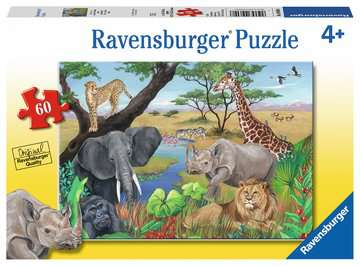 Safari Animals Jigsaw Puzzles;Children s Puzzles - image 1 - Ravensburger
