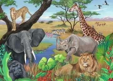 Animaux d Afrique Puzzles;Puzzles pour enfants - Image 2 - Ravensburger