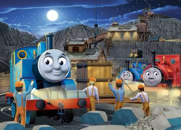 Thomas & Friends: Night Work Jigsaw Puzzles;Children s Puzzles - image 2 - Ravensburger