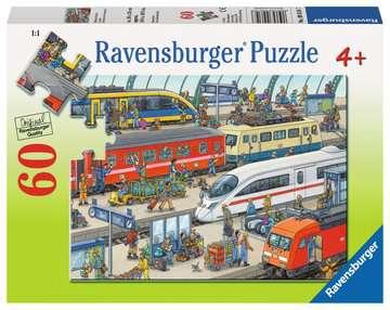 Railway Station Jigsaw Puzzles;Children s Puzzles - image 1 - Ravensburger