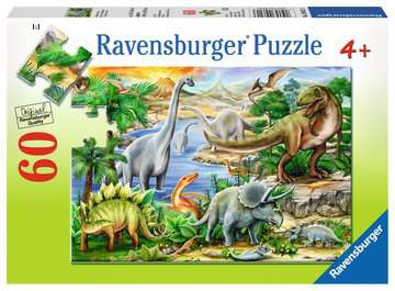 Prehistoric Life Jigsaw Puzzles;Children s Puzzles - image 1 - Ravensburger