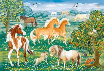 Mustang Meadow Jigsaw Puzzles;Children s Puzzles - image 2 - Ravensburger