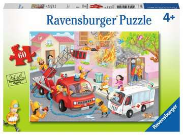 Firefighter Rescue! Jigsaw Puzzles;Children s Puzzles - image 1 - Ravensburger