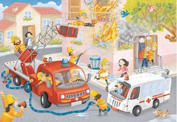 Firefighter Rescue! Jigsaw Puzzles;Children s Puzzles - image 2 - Ravensburger