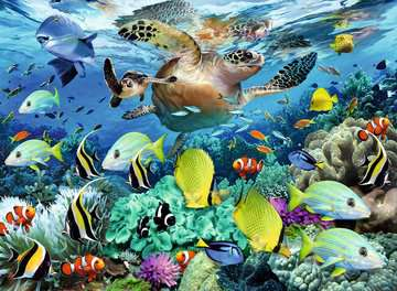 Underwater Paradise Jigsaw Puzzles;Children s Puzzles - image 2 - Ravensburger