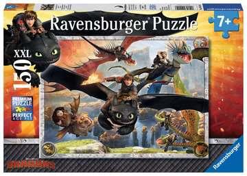 DRAGONS: OSWOJONE SMOKI 150 EL Puzzle;Puzzle dla dzieci - Zdjęcie 1 - Ravensburger