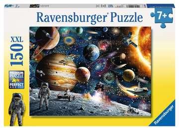 10016 Kinderpuzzle Im Weltall von Ravensburger 1