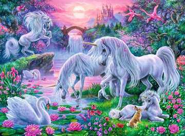 Unicorns in the Sunset Glow Jigsaw Puzzles;Children s Puzzles - image 2 - Ravensburger