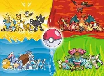 Puzzle 150 p XXL - Les différents types de Pokémon Puzzle;Puzzle enfant - Image 2 - Ravensburger