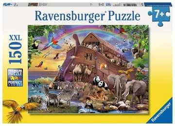 10038 Kinderpuzzle Unterwegs mit der Arche von Ravensburger 1