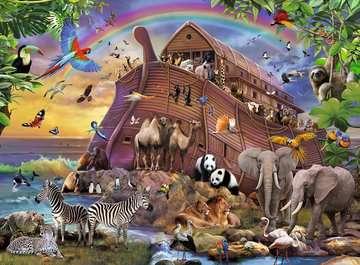 Voyage à bord de l Arche Puzzle;Puzzles enfants - Image 2 - Ravensburger