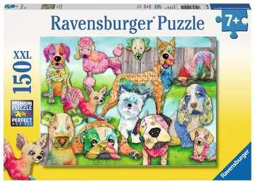 Patchwork Pups Jigsaw Puzzles;Children s Puzzles - image 1 - Ravensburger