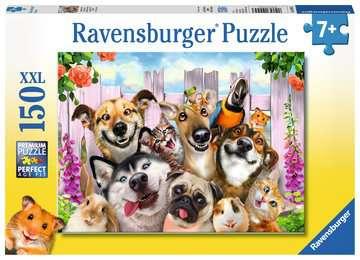Lustiges Tierselfie Puzzle;Kinderpuzzle - Bild 1 - Ravensburger