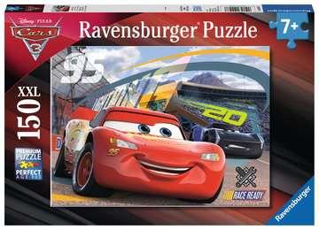 Rasantes Rennen Puzzle;Kinderpuzzle - Bild 1 - Ravensburger