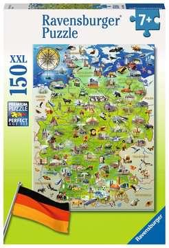 10049 Kinderpuzzle Meine Deutschlandkarte von Ravensburger 1