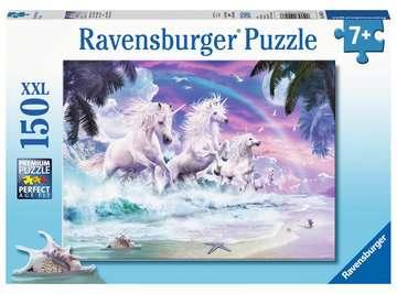 10057 Kinderpuzzle Einhörner am Strand von Ravensburger 1