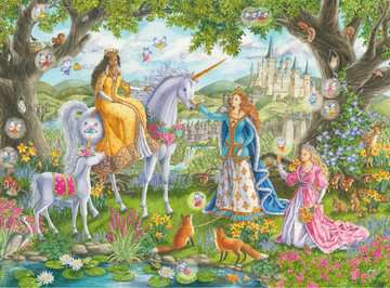 Princess Party Jigsaw Puzzles;Children s Puzzles - image 2 - Ravensburger