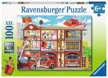 Firehouse Frenzy Jigsaw Puzzles;Children s Puzzles - image 1 - Ravensburger