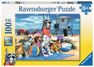 No Dogs on the Beach Jigsaw Puzzles;Children s Puzzles - image 1 - Ravensburger