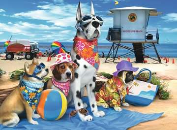 No Dogs on the Beach Jigsaw Puzzles;Children s Puzzles - image 2 - Ravensburger