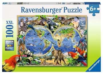 Tierisch um die Welt Puzzle;Kinderpuzzle - Bild 1 - Ravensburger