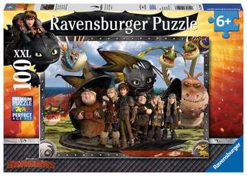10549 Kinderpuzzle Ohnezahn und seine Freunde von Ravensburger 1