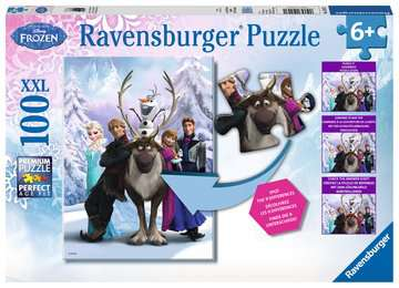 The Frozen Difference Jigsaw Puzzles;Children s Puzzles - image 1 - Ravensburger