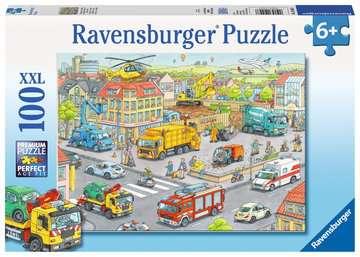 10558 Kinderpuzzle Fahrzeuge in der Stadt von Ravensburger 1