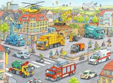 Fahrzeuge in der Stadt Puzzle;Kinderpuzzle - Bild 2 - Ravensburger