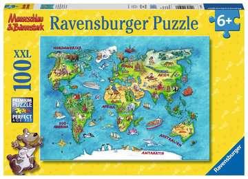 10595 Kinderpuzzle Reise um die Welt von Ravensburger 1