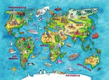 10595 Kinderpuzzle Reise um die Welt von Ravensburger 2