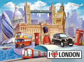 KOCHAM LONDYN! 100 EL Puzzle;Puzzle dla dzieci - Zdjęcie 2 - Ravensburger