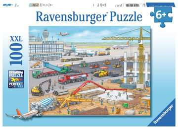 Construction at the Airport Jigsaw Puzzles;Children s Puzzles - image 1 - Ravensburger