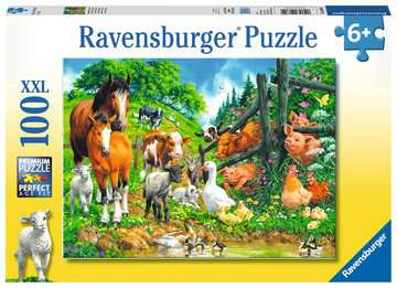 Animal Get Together Jigsaw Puzzles;Children s Puzzles - image 1 - Ravensburger