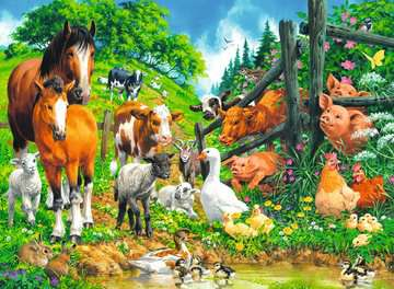 Animal Get Together Jigsaw Puzzles;Children s Puzzles - image 2 - Ravensburger