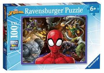 Disney Spiderman 100 dílků 2D Puzzle;Dětské puzzle - obrázek 3 - Ravensburger