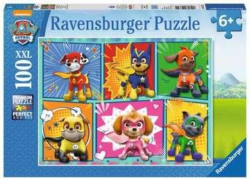 Tlapková Patrola 100 dílků 2D Puzzle;Dětské puzzle - obrázek 1 - Ravensburger