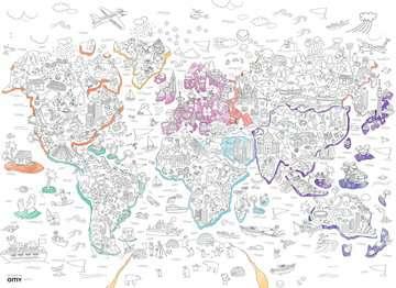 Color puzzle 80 p - Atlas / OMY Puzzle;Puzzle enfant - Image 2 - Ravensburger