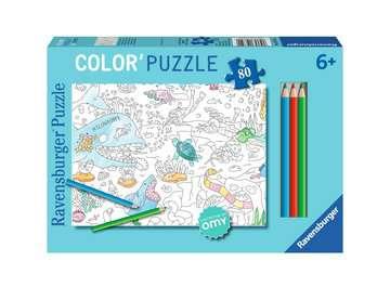 Color puzzle 80 p - Le monde sous l eau / OMY Puzzle;Puzzle enfant - Image 1 - Ravensburger