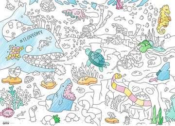 Color puzzle 80 p - Le monde sous l eau / OMY Puzzle;Puzzle enfant - Image 2 - Ravensburger