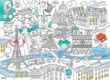 Color puzzle 80 p - En ville / OMY Puzzle;Puzzle enfant - Image 2 - Ravensburger