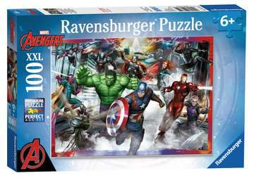 Avengers Sjednocení 100 dílků 2D Puzzle;Dětské puzzle - image 1 - Ravensburger