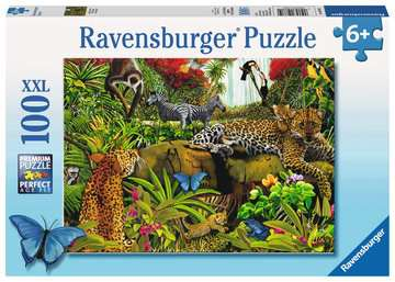 Wild Jungle Jigsaw Puzzles;Children s Puzzles - image 1 - Ravensburger