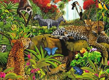 Wild Jungle Jigsaw Puzzles;Children s Puzzles - image 2 - Ravensburger