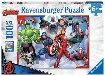 Disney Marvel Avengers 100 dílků 2D Puzzle;Dětské puzzle - image 1 - Ravensburger