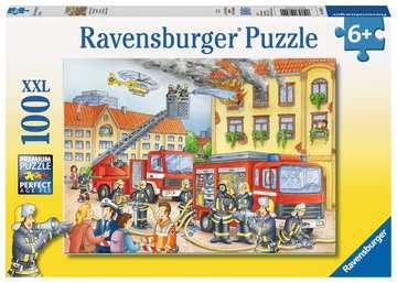 10822 Kinderpuzzle Unsere Feuerwehr von Ravensburger 1