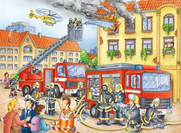 10822 Kinderpuzzle Unsere Feuerwehr von Ravensburger 2